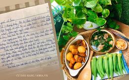 """14 ngày nấu cơm mời ông hàng xóm độc thân, người phụ nữ nhận được 2 bút tích kèm lời đề nghị """"chấn động"""""""