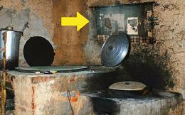 Thấy tấm vải cũ nát treo ở góc bếp, chuyên gia kinh ngạc hỏi chủ nhà: Biết đây là hình của ai không?