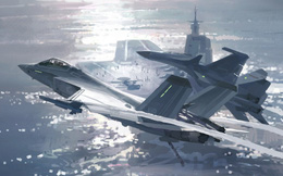 """Tiêm kích J-35 bất ngờ xuất hiện trên """"tàu sân bay"""" TQ: Chuyên gia Mỹ lo lắng không yên?"""