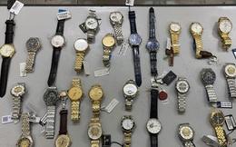Đạo chích đột nhập tiệm đồng hồ, chỉ khoắng hàng hiệu