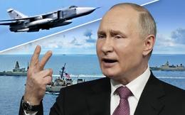 """Anh-Mỹ """"ghẹo Gấu Nga ngay cửa hang"""": TT Putin """"bắt thóp"""", tức tốc ra đòn hiểm ở Biển Đen"""