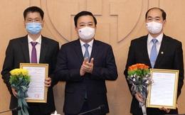 2 Giám đốc bệnh viện làm Phó Giám đốc Sở Y tế Hà Nội