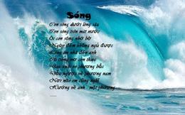 Bài thơ Sóng của Xuân Quỳnh thể hiện xuất sắc tâm hồn người phụ nữ khi yêu