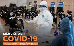 Gần 50.000 địa điểm ở TP.HCM không an toàn vì dịch COVID-19. Có 3 tài xế chở hàng ở Hà Nội nghi mắc COVID-19
