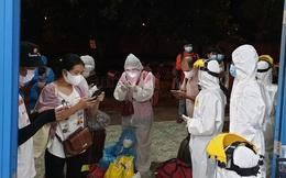 Không thể xuống ga Huế, hàng chục người Thừa Thiên Huế phải đến Quảng Trị cách ly