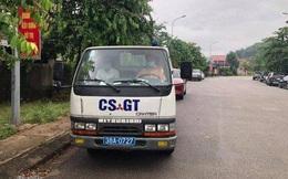CSGT lái xe chuyên dụng chạy 15km chở thí sinh về nhà để lấy giấy tờ thi