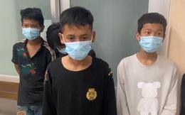 Băng nhóm dùng dao đuổi chém, cướp xe máy người đi đường ở Sài Gòn sa lưới