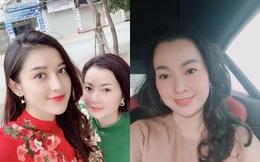 Nhan sắc mẹ ruột U50 trẻ trung, hay bị nhầm là chị em của Á hậu Huyền My