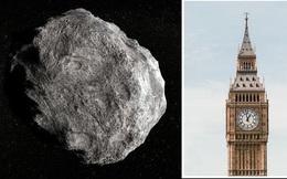 Tiểu hành tinh lớn gấp đôi Big Ben đang tiến về Trái đất