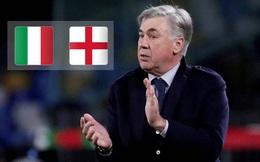 Italia và Anh vào chung kết, Ancelotti dự đoán như thần