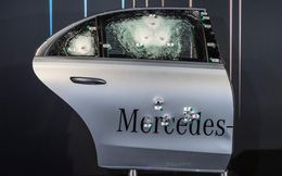 Lựa chọn mới của đại gia: Mercedes chống đạn thay vì Rolls Royce Phantom!