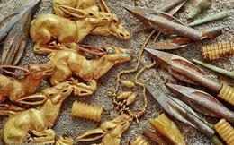 Choáng ngợp trước 'kho vàng' trong ngôi mộ cổ của cung thủ tuổi teen ở Kazakhstan