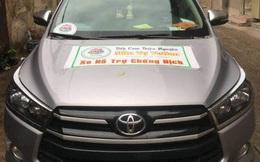"""Phát hiện xe gắn bảng """"bếp cơm thiện nguyện"""" đưa người dân về quê giá 5 triệu đồng/người ở Sài Gòn"""