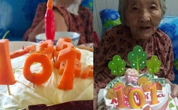 Cụ bà 101 tuổi bật khóc trong khu cách ly khi được ăn bánh sinh nhật bắp cải, danh tính người làm khiến tất cả cảm động