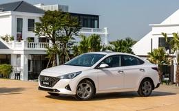 """Hyundai Accent 2021 giảm giá đậm tay đầu tháng Ngâu, khiến Toyota Vios """"khóc thét"""""""