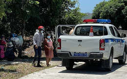 Sản phụ nhiễm Covid-19 chuyển dạ trên quốc lộ 1A, cảnh sát dùng xe đặc chủng đưa đến bệnh viện