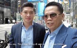 """Thái Công và bồ CEO bị chỉ trích vì nói """"nơi này nhiều tourist quá ha"""" ở Vlog du lịch, netizen hỏi ngược: Vậy 2 anh là """"tour"""" gì?"""