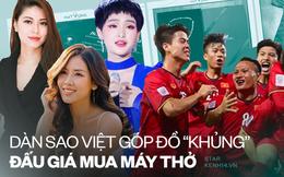 BTV Ngọc Trinh góp đồng hồ, 1 Hoa hậu cùng dàn sao khủng livestream đấu giá mua máy thở tặng bệnh viện