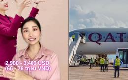 Một hãng bay 5 sao nổi tiếng đang tuyển tiếp viên người Việt với đãi ngộ cực tốt: Cấp nhà ở và xe đưa rước, lương gần trăm triệu là ít!