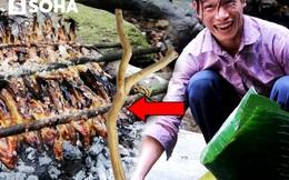 Nhóm đi rừng gặp suối đầy cá, họ chỉ cần dùng lá chuối và cây gỗ nhỏ: Kết quả bất ngờ