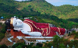 Tượng Phật nằm lớn nhất thế giới ẩn mình trong khu rừng rậm, hương khói nghi ngút nhưng không ai dám 'to gan' đến gần: Vì sao?