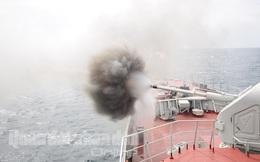 """Các xạ thủ Hải quân quyết giành """"Cúp biển"""""""