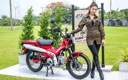 Mãn nhãn Honda Cub hàng Thái Lan giá 62 triệu đồng, đổ đầy bình xăng đi 360km