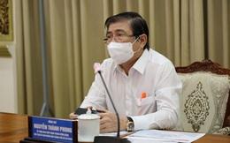 Chủ tịch TPHCM đề nghị Bộ Y tế và các tỉnh, thành chi viện chống dịch