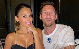 Bỏ Barca lại sau lưng, Messi cùng vợ hẹn hò ở Paris