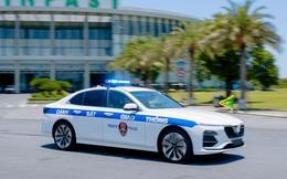 VinFast Lux A2.0 dành cho cảnh sát giao thông: Phát hiện điểm chung với xe cảnh sát tại Mỹ và Nhật!