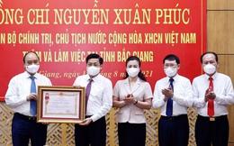 Tỉnh đầu tiên trên cả nước nhận Huân chương Lao động về thành tích chống dịch Covid-19