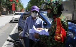"""Kiểm soát người ra đường giữa Chỉ thị 16 ở TP Vinh: Công an gọi điện xác minh tận nơi nếu khai báo """"quanh co"""""""