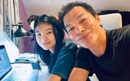 Rich kid nhà Trương Ngọc Ánh để mặt mộc giản dị học online, nhìn là biết con gái Bảo Sơn vì quá giống bố!