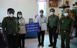 Truy thăng hàm Thiếu tá cho chiến sĩ công an hy sinh khi làm nhiệm vụ chống dịch Covid-19