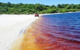 'Hồ nước coca cola' độc nhất vô nhị ở Brazil