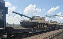 Trung Quốc đưa loạt xe tăng chiến đấu chủ lực Type-96 đến Nga dự thi Army Games 2021
