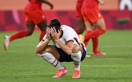 Thất bại vì quả penalty nghiệt ngã, đội tuyển Mỹ chia tay Olympic trong nước mắt