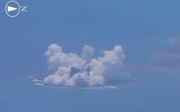 Nhật Bản vừa có thêm một đảo mới nhờ… núi lửa phun trào
