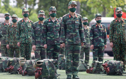 1.000 quân nhân chuẩn bị từ Hà Nội vào TP.HCM chống dịch Covid-19