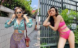 """Nhan sắc nóng bỏng và cuộc sống xa hoa của """"Thiên thần nội y"""" đẹp  nhất  Thái Lan"""