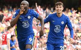 """Lukaku càn quét đối thủ trong ngày trở lại, Chelsea lạnh lùng """"nhấn chìm"""" Arsenal"""