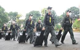 Trung đoàn Cảnh sát cơ động Tây Nguyên hỗ trợ Bà Rịa - Vũng Tàu chống dịch Covid-19