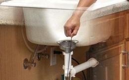 Cách xử lý khi bị tắc, nghẹt ống nước đơn giản tại nhà