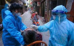 Cả nước thêm 10.811 ca nhiễm mới, 6.780 ca trong cộng đồng. Test nhanh 170.000 mẫu ở TP HCM, 6.000 mẫu dương tính