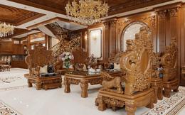 Nghỉ dịch nhớ công trình, dân xây dựng khoe biệt thự, lâu đài của đại gia đẹp choáng ngợp