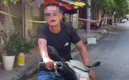 Hà Nội: Người đàn ông không đeo khẩu trang lớn tiếng chửi bới, bóp cổ công an tại chốt kiểm soát Covid-19