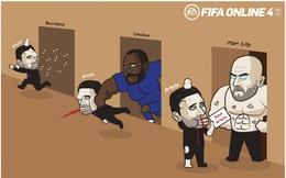 Biếm họa 24h: Mikel Arteta cầu cứu Pep Guardiola