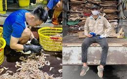 Cảnh cầu thủ Việt Nam đi bóc tôm, thu gom phế liệu khi V.League bị huỷ xuất hiện trên báo Trung Quốc