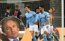 Sếp lớn của Man City xanh mặt khi nằm cùng bảng PSG