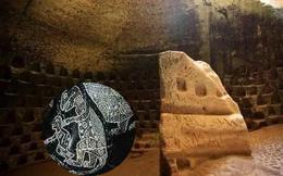 Những bức tranh tường trong đường hầm cổ đại khiến đội khảo cổ kinh ngạc: Loài người đã từng nuôi khủng long?